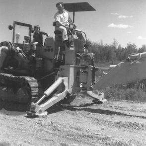 Early Years of B. Thomas Bulldozing Inc.